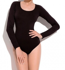 GATTA BODY DŁUGI RĘKAW BODY L VISCOSE BLACK L